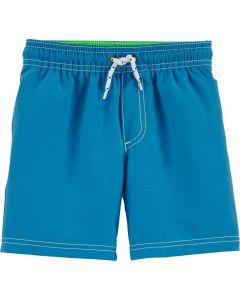 Carter's short de baño azul