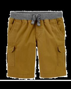 Carter's short marrón con gris