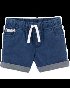 Carter's short jeans con blanco