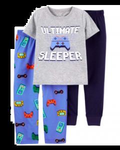 Carter's 3 piezas pijama gamer
