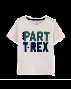 Carter's t-shirt gris T-rex