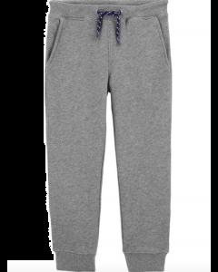 Carter's joggers gris con cuerda azul