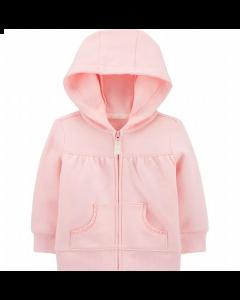 Carter's sweater rosado con capucha