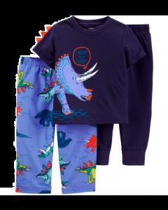 Carter's 3 piezas pijamas tiranosaurio