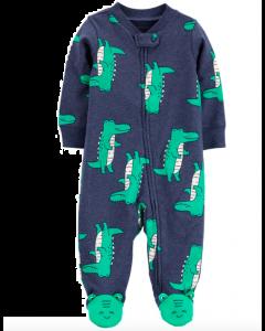 Carter's pijama con pie de cocodrilos