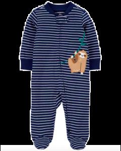 Carter's pijama a rayas con pereza