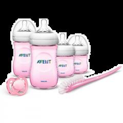 Avent Set para recién nacidos rosado